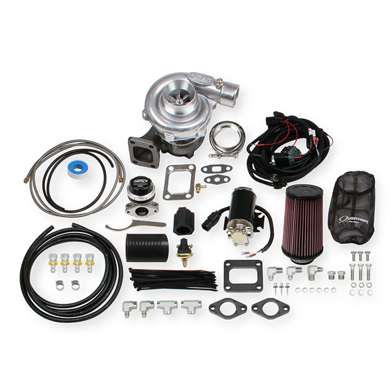 STS Turbo Remote Mounted Single Turbo Kit for 6 0-7 0 Liter Engines