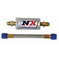 Nitrous Express Filter and Stainless Steel Hose