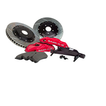 Baer Eradispeed Plus 2-Piece Rotors, Front Pair