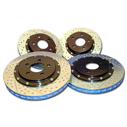 Baer Decalarotor (1 Piece) Front Rotors, Slotted & Drilled