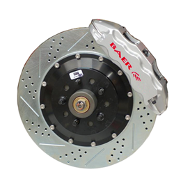 Baer Eradispeed +1(1 Piece) Rotors, 1999-2004 Silverado 2wd/4wd excluding 4whl steering or SS models, Rear Pair