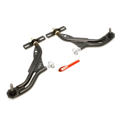 BMR Suspension 2010-11 Mustang A-arms, lower, adj, delrin/rod end, 19mm tall ball joint