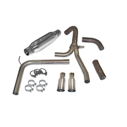 SLP Loud Mouth Exhaust System 1998-2002 LS1 F-Body with 3.5 Slash Tips