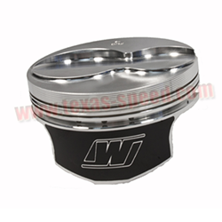 "Wiseco -2.8cc Flat-Top Forged Piston Set for 3.622"" Stroke"