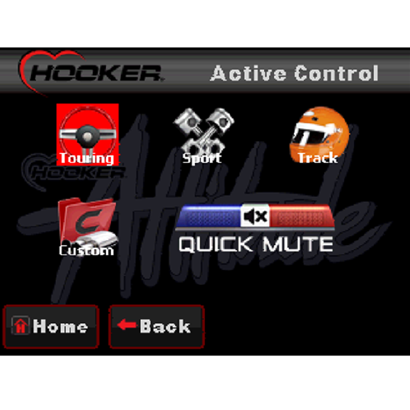 Hooker 71013001-RHKR Blackheart Attitude Universal Multi-Mode Exhaust Valve  Control System