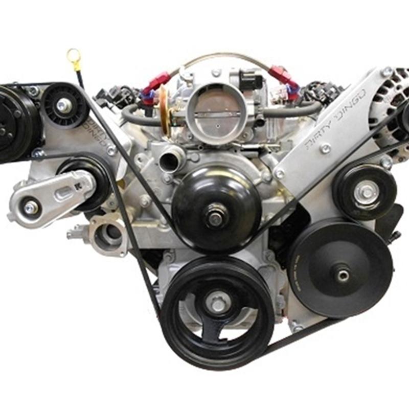 Dirty Dingo LS Sanden 508 A/C Bracket Assembly, Truck Accessories