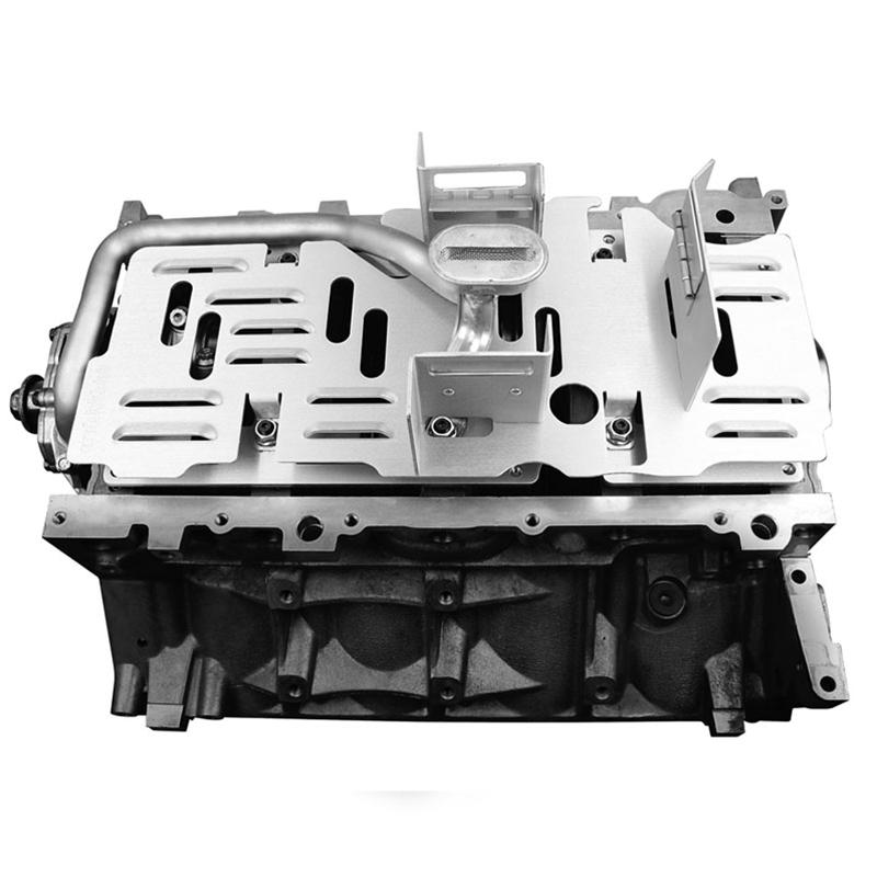 Improved Racing LS2, LS3 C6 Corvette Racing Oil Pan Baffle & Crank Scraper  Kit