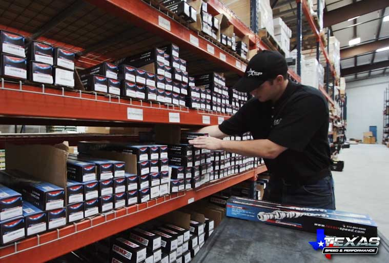 We keep our shelves stocked at all times in our 35,500 square foot facility and strive to provide on-time delivery.