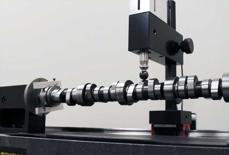 We conduct quality control checks on our $50,000 Andrews EZ Cam Profile Measuring machine.